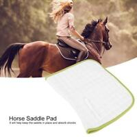 Dressage Jumping Soft Purpose Saddle Pad Thick and Sweat Absorbing BH