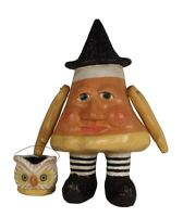 "Bethany Lowe Candy Corn Charlie Large Paper Mache Halloween Figure 21"" TD8515"