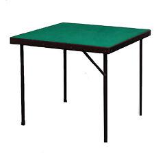 Superior Bridge Card Game Table - Folding Legs