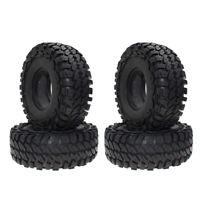 "2Pcs 114mm Simulation Rubber Tires 1.9"" Tyre Wheel for 1/10 Rock Crawler Trucks"