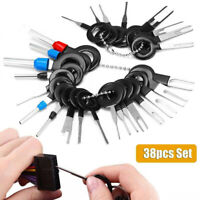 38x Car Electrical Terminal Plug Wiring Connector Pin Extractor Removal Key Tool