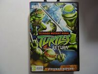 Turtles The Hyperstone Heist Teenage Sega Genesis Mega Drive.