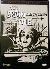 The Brain That Wouldn't Die (1959) - Synapse Films - Region 1 DVD - w/booklet