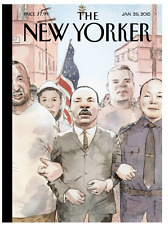 MARTIN LUTHER KING MLK jan JANUARY 26, 2015 THE NEW YORKER MAGAZINE