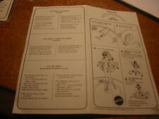 Rock Flower Doll Lyric Sheet and Directions