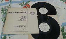 VOCE-20 - MOZART:-Apollo und Hyacinthus Moser Zylis-Gara Keller Lange vinyl 2LP