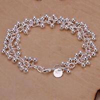 Unisex Women's 925 Sterling Silver Bracelet 8 Inches 2.6MM Lobster L2