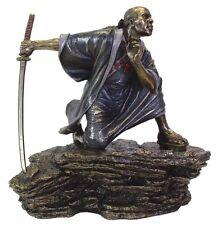 "9"" Japanese Samurai Fighting Sword Collectible Statue Figurine Warrior Oriental"