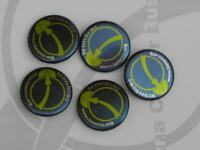 Luna Project button badge space moon colony settlement