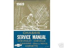 1969  69    CAMARO/SS/Z28  SHOP MANUAL