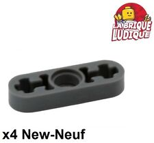 Lego Technic - 4x Liftarm 1x3 thin mince gris foncé/dark bluish gray 6632 NEUF
