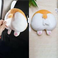 Cartoon Car Tissue Holder Seat Back-mounted Tray Cat Corgi Butt Tissue Dispenser