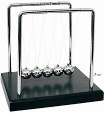NEW Newtons Cradle Balance Balls 7 1/4 inch, Desktop Gift Office Home Decoration
