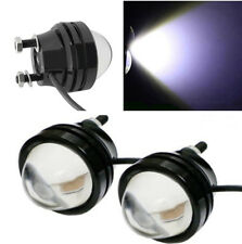 2pcs Xenon 12-24V White High Power Bull Eye LED Daytime Runing Light Fog Light