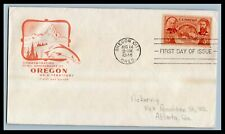 US FDC  # 964  3c Oregon Territory  Farnham addressed, 9a600