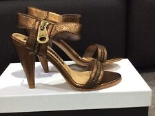 MARC by Marc Jacobs bronze heels sandals shoes 35.5