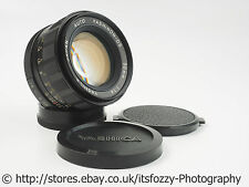 Yashica Yashinon-DS M42 50mm f/1.4 Prime Standard Lens