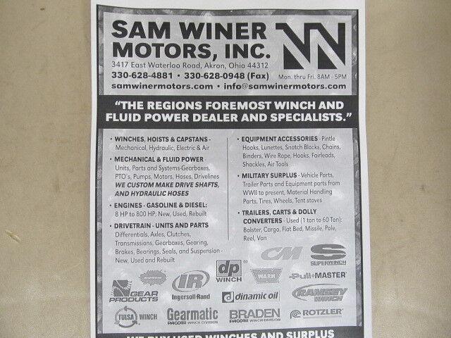 sw-ironman SAM WINER MTRS INC.