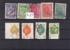 Liechtenstein Lot/ Posten mit 4 - 8  sauber gestempelt, preisgünstig, siehe Scan