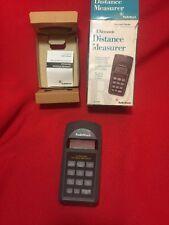 Ultrasonic DISTANCE MEASURER Radio Shack 63-1005