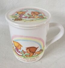 Betsey Clark Hallmark Friends Coffee Mug Mates 1983 Japan Rainbow