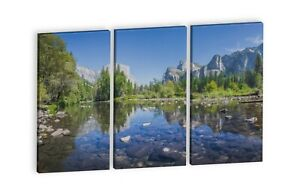 3 panel Canvas Print Home or office décor Photograph reproduction Wall art