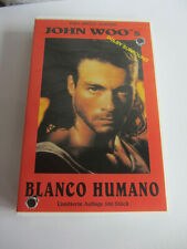 VAN DAMME  HARTE ZIELE Hard Target Blanco Humano  VHS Video Kassette limitiert