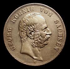 Kgr. Sachsen, 5 Mark 1904 E