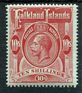 FALKLAND ISLANDS 1914 10/- SG68 NEVER HINGED MINT