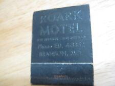 Vintage Roark Motor Phone ED 4-3352 Branson MO matchbook