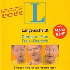 Mario Barth-CD-tedesco-signora; signora-tedesco-Langenscheidt