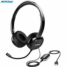 Mpow 071 USB Headset 3.5mm Computer Headset with Microphone Noise Cancelling