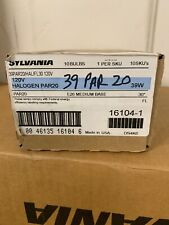 Sylvania (16104) S-39PAR20/HAL/FL30 120V 39W PAR20 120V 30-Degree Lamp 10 Pi