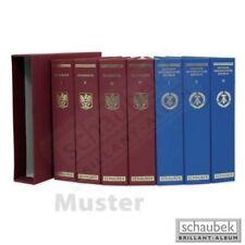 Schaubek KOA-860/01N Album CEPT 1956-1979 Standard im geprägten Leinen-Schraubbi