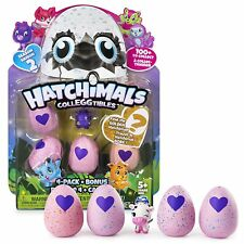Hatchimals Collegtibles 4 Pack + Bonus - Season 2