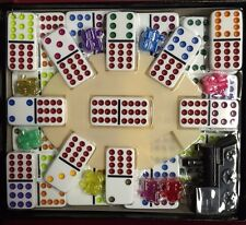 Double Twelve 12 Dominoes Mexican Train Dominoes Set w/ FREE SHIPPING