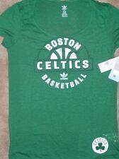 NEW NBA Boston Celtics Burnout T Shirt Womens Ladies XL X-Large Basketball NWT