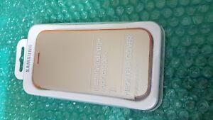 100% Official Genuine Samsung Galaxy A3 2017 Neon Flip Wallet Gold