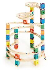 E6008 HAPE The Cyclone Wooden Build Game [Quadrilla Marble Runs] Children 4 Yrs+