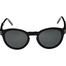 Neues AngebotMONTBLANC Oval Sonnenbrille-schwarz-MB 642s 01a