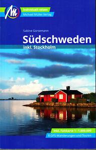 REISEFÜHRER SÜDSCHWEDEN mit Stockholm 2020/21 Michael Müller Verlag SÜD SCHWEDEN