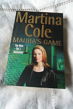 MAURA'S GAME by MARTINA COLE LARGE PAPERBACK 406 pages