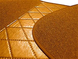 Cognac Loop Carpet Set For Mercedes W116 SE 280S 280SE 350SE 450SE 1972-1980