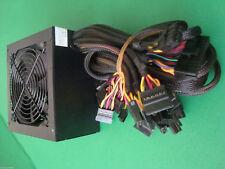 NEW 600W 650W ATX Large FAN Power Supply PSU PCIE SATA 450W 500W 550W