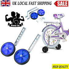 Guer 1 Pair Bicycle Training Wheels Universal Junior Wheel Stabiliser Kids Bicycle Stabilizers Mounted Kit Bike Balance Stabiliser Assist Compatible for Bikes of 16 18 20 22 24 Inch