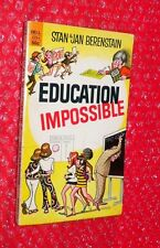 Education Impossible by Stan and Jan Berenstain paperback  Dell 2254