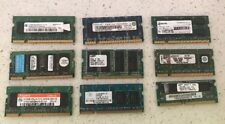 9 X 512mb DDR-All Great Working Condition-Free Post-Absolute Bargain