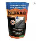 Quick Dam QD65-1 Water-Activated Flood Barrier-5 Feet-1/Pack, 5-ft, Black