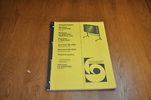 Beovision LX 4500 5500 MX3500 MX5500 + Colour Television Service Manual