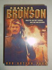 Charles Bronson 4-Movie Action Pack (DVD, 2003, 4-Disc Set) BRAND NEW, Box Set